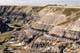 HORSESHOE CANYON SHOWING SOIL STRATIFICATION, DRUMHELLER