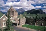LOC BAN BAN  AB     2110504DREAR VIEW, BANFF SPRINGS HOTELBANFF                                08/22© CLARENCE W. NORRIS     ALL RIGHTS RESERVEDAB_;ALBERTA;ALPINE;BANFF;BANFF_NP;BANFF_SPRINGS_HOTEL;CORDILLERA;CPR;HISTORIC;HOTELS;MOUNTAINS;NP_;STRUCTURES;SUMMER;TOURISMLONE PINE PHOTO              (306) 683-0889