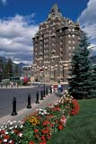 LOC BAN BAN  AB     2110618D  VTEXTERIOR VIEW IN SUMMERBANFF SPRINGS HOTELBANFF                                08/22© CLARENCE W. NORRIS     ALL RIGHTS RESERVEDAB_;ALBERTA;ALPINE;BANFF;BANFF_NP;BANFF_SPRINGS_HOTEL;BULLETINS;CORDILLERA;CPR;FLOWERS;HOTELS;NP_;PEOPLE;STRUCTURES;SUMMER;TOURISM;VTL LONE PINE PHOTO              (306) 683-0889