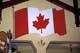 CANADIAN FLAG, CANADA PLACE, BANFF