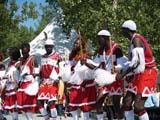 LOC EDM MIS  AB  DSR06B5827DXAFRICAN DANCERSEDMONTON HERITAGE FESTIVALEDMONTON                        ../..© DUANE S. RADFORD         ALL RIGHTS RESERVEDAB_;AFRICAN;ALBERTA;CO_ED;COSTUMES;CULTURE;DANCE;EDMONTON;EDMONTON_HERITAGE_FESTIVAL;FESTIVALS;PEOPLE;PLAINS;PRAIRIES;SUMMERLONE PINE PHOTO              (306) 683-0889