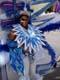 WOMAN IN COSTUME, CARIWEST CARIBBEAN FESTIVAL PARADE, EDMONTON