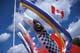 WIND SOCKS, CANADIAN FLAG, JAPANESE PAVILION, EDMONTON HERITAGE FESTIVAL, EDMONTON