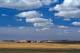 FARMYARD AND CLOUDS, THREE HILLS