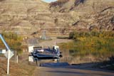 SEA AUT SCE  AB  KJM0310307D        CAR FERRY ON RED DEER RIVERBLERIOT FERRY                  10/..© KEVIN MORRIS                ALL RIGHTS RESERVEDAB_;ALBERTA;AUTUMN;BADLANDS;BLERIOT_FERRY;FERRIES;GEOGRAPHY;PLAINS;PRAIRIES;RED_DEER_RIVER;RIVERS;SCENES;TRANSPORTATION;VALLEYS;WATERLONE PINE PHOTO              (306) 683-0889