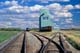 AGRICORE ELEVATOR AND TRAIN TRACKS, BAWLF