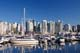 MARINA & VANCOUVER SKYLINE IN SUMMER, VANCOUVER