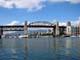 MARINA AND BURRARD ST BRIDGE, GRANVILLE ISLAND, VANCOUVER