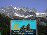 PAR NAT GLA  BC  CWN02D2297D   ROGERS PASS CENTER SIGN AND THE SWISS PEAKSGLACIER NATIONAL PARK          08..© CLARENCE W. NORRIS           ALL RIGHTS RESERVEDAB_;ALPINE;BRITISH;BRITISH_COLUMBIA;COLUMBIA;CORDILLERA;GLACIER_NP;MOUNTAINS;NP_;ROGERS_PASS_CENTRE;SIGNS;SUMMER;SWISS_PEAKLONE PINE PHOTO                  (306) 683-0889