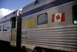 PAR NAT JAS  AB  DSR1000408DVIA RAIL CARS, CNR TRAIN STATIONJASPER NATIONAL PARK         04..© DUANE S. RADFORD             ALL RIGHTS RESERVEDAB_;ALPINE;ALBERTA;CANADIAN;CNR;CORDILLERA;FLAGS;JASPER;JASPER_NP;NP_;SPRING;TOURISM;TRAINS;TRANSPORTATION;VIA_RAILLONE PINE PHOTO                 (306) 683-0889