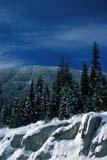 PAR NAT KOO  BC  JLB1900807D  VTSNOW-COVERED TREES AND RIDGEVERDANT CREEKKOOTENAY NAT PK                01© JOHN L. BYKERK                ALL RIGHTS RESERVEDBC_;BRITISH;BRITISH_COLUMBIA;COLUMBIA;CORDILLERA;ELEMENTS;KOOTENAY_NP;NP_;SCENES;SNOW;TREES;VERDANT_CREEK;VTL;WINTERLONE PINE PHOTO              (306) 683-0889