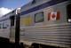 VIA RAIL CARS, CNR TRAIN STATION, JASPER NATIONAL PARK