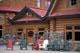 FRONT ENTRANCE NUM-TI-JAH LODGE, BOW LAKE, JASPER NATIONAL PARK