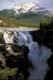 ATHABASCA FALLS IN SUMMER, JASPER NATIONAL PARK