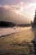 ICE FOG ON KOOTENAY RIVER AT SUNRISE, KOOTENAY NATIONAL PARK