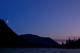 MOONSET, KATHLEEN LAKE, KLUANE NATIONAL PARK