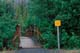 BEAR WARNING SIGN, ROCK GLACIER TRAILHEAD, KLUANE NATIONAL PARK