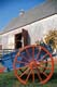 WAGON AND BARN, HOUSE OF GREEN GABLES, CAVENDISH, P.E.I. NATIONAL PARK