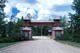 PARK ENTRANCE GATE, RIDING MOUNTAIN NATIONAL PARK