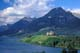PRINCE OF WALES HOTEL, LAKE AND MOUNTAINS, WATERTON LAKES NATIONAL PARK