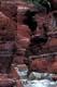HIGH WALLS OF RED ROCK CANYON, WATERTON LAKES NATIONAL PARK