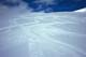 SKIERS AND TRACKS, ROCKY MOUNTAINS, YOHO NATIONAL PARK