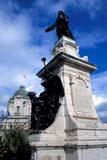 LOC QUE MIS  QC  DSR1001532D  VTSAMUAL DE CHAMPLAIN MONUMENT, DUFFERIN TERRACEQUEBEC CITY                      10/..© DUANE S. RADFORD         ALL RIGHTS RESERVEDAUTUMN;CENTRAL;HISTORIC;QC_;QUEBEC;QUEBEC_CITY;SAMUAL_DE_CHAMPLAIN;STATUES;VTL LONE PINE PHOTO              (306) 683-0889