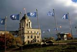 LOC QUE MIS  QC  DSR1001533D  UNESCO MONUMENT, OLD QUEBECWORLD HERITAGE SITE 1985QUEBEC CITY                      10/..© DUANE S. RADFORD         ALL RIGHTS RESERVEDAUTUMN;BUILDINGS;CENTRAL;FLAGS;HISTORIC;OLD_QUEBEC_CITY;QC_;QUEBEC;QUEBEC_CITY;STRUCTURES;UNESCO;WORLD_HERITAGE_SITESLONE PINE PHOTO              (306) 683-0889