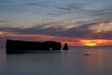 SEA SUM SCE  QC  CRS0000270D  PERCE ROCK AT SUNRISEGASPE PENINSULAPERCE                               08/..© CLIFF SANDESON            ALL RIGHTS RESERVEDCENTRAL;GASPE;GASPE_PENINSULA;PERCE;PERCE_ROCK;QC_;QUEBEC;SCENES;SKY;SUMMER;SUNRISES;WATERLONE PINE PHOTO              (306) 683-0889