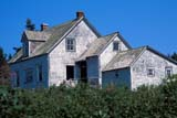 SEA SUM SCE  QC  CRS0000272D  DESERTED HOUSE IN SUMMERBONAVENTURE ISLAND, GASPEPERCE                               08/..© CLIFF SANDESON            ALL RIGHTS RESERVEDABANDONED;BONAVENTURE_ISLAND;BUILDINGS;CENTRAL;GASPE;GEOMETRY;HOMES;OLD;PERCE;QC_;QUEBEC;STRUCTURES;SUMMER LONE PINE PHOTO              (306) 683-0889