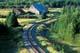 TRAIN TRACK AND C CURVE, GASPE PENINSULA, NEWPORT
