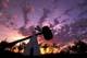 WORLD'S LARGEST TOMAHAWK AT TWILIGHT, CUTKNIFE