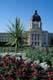 SASKATCHEWAN LEGISLATIVE BUILDING AND SUMMER FLOWERS, REGINA