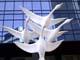WESTERN SPIRIT BY  DOW REID SCULPTURE BY CANADA TRUST BUILDING, REGINA