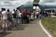CROWD LINED-UP TO VIEW HERCULES AIRCRAFT, CANADA REMEMBERS AIRSHOW, SASKATOON