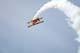 AG-CAT BI-PLANE DOING ROLL, CANADA REMEMBERS AIRSHOW, SASKATOON