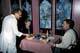 COUPLE DINING ON EAST INDIAN FOOD, TAJ MAHAL RESTAURANT, SASKATOON