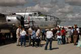 LOC SAS AIR  SK  WDS05B4177DX     PACIFIC PROWLER, NORTH AMERICAN B-25J BOMBERCANADA REMEMBERS AIRSHOWSASKATOON                     08..© WAYNE SHIELS               ALL RIGHTS RESERVEDAIRPLANES;AIRSHOWS;B_25J_BOMBER;BOMBERS;CANADA_REMEMBERS_AIRSHOW;CROWDS;PEOPLE;PLAINS;PRAIRIES;SASKATCHEWAN;SASKATOON;SK_;TOURISM;TRANSPORTATION LONE PINE PHOTO              (306) 683-0889