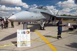 LOC SAS AIR  SK  WDS05B4195DX        CF-18 HORNETCANADA REMEMBERS AIRSHOWSASKATOON                     08..© WAYNE SHIELS               ALL RIGHTS RESERVEDAIRPLANES;AIRSHOWS;CANADA_REMEMBERS_AIRSHOW;CAUTION;CAUTION_TAPE;CF_18_HORNET;EVENTS;JETS;PEOPLE;PLAINS;PRAIRIES;SASKATCHEWAN;SASKATOON;SIGNS;SK_;TOURISM;TRANSPORTATION   LONE PINE PHOTO              (306) 683-0889