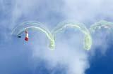 LOC SAS AIR  SK  WDS05B4340DX      SKY HAWKS JUMPING TEAMCANADA REMEMBERS AIRSHOWSASKATOON                     08..© WAYNE SHIELS               ALL RIGHTS RESERVEDAIRSHOWS;CANADA_REMEMBERS_AIRSHOW;EVENTS;PARACHUTING;PEOPLE;PLAINS;PRAIRIES;SASKATCHEWAN;SASKATOON;SK_;SKYDIVING;SKY_HAWKS;SMOKE;TOURISMLONE PINE PHOTO              (306) 683-0889