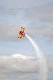 LOC SAS AIR  SK  WDS05B4388DX  VT    AG-CAT BI-PLANE DOING ROLLCANADA REMEMBERS AIRSHOWSASKATOON                     08..© WAYNE SHIELS               ALL RIGHTS RESERVEDAG_CAT_BI_PLANE;AIRPLANES;AIRSHOWS;BI_PLANES;CANADA_REMEMBERS_AIRSHOW;EVENTS;PLAINS;PRAIRIES;SASKATCHEWAN;SASKATOON;SK_;SKY;SMOKE;TOURISM;TRANSPORTATION;VTLLONE PINE PHOTO              (306) 683-0889