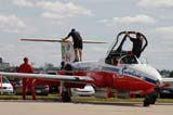 LOC SAS AIR  SK  WDS05B4422DX    SNOWBIRDS AIRCRAFT ON RUNWAYCANADA REMEMBERS AIRSHOWSASKATOON                     08..© WAYNE SHIELS               ALL RIGHTS RESERVEDAIRPLANES;AIRSHOWS;CANADA_REMEMBERS_AIRSHOW;CANOPIES;EVENTS;GROUND_CREW;JETS;MALE;OCCUPATIONS;PEOPLE;PLAINS;PRAIRIES;SASKATCHEWAN;SASKATOON;SK_;SNOWBIRDS;TOURISM;TRANSPORTATIONLONE PINE PHOTO              (306) 683-0889