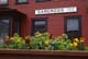 FLOWERS AT HISTORIC TRAIN STATION, YUKON-WHITE PASS ROUTE, CARCROSS