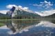 MT. RUNDLE REFLECTED IN LAKE, VERMILLION LAKES, BANFF NATIONAL PARK