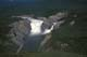 AERIAL OF VIRGINIA FALLS, NAHANNI RIVER, NAHANNI NATIONAL PARK