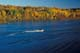 FISHERMAN IN AUTUMN, SASKATCHEWAN RIVER, NIPAWIN