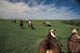 PEOPLE ON TRAIL RIDE, GRASSLANDS NATIONAL PARK