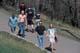 PEOPLE WALKING ON PATH IN PARK, SASKATOON