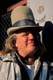 MAN IN HAT, BOURBON STREET, NEW ORLEANS
