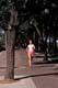 WOMAN JOGGING IN KIWANIS PARK, SASKATOON